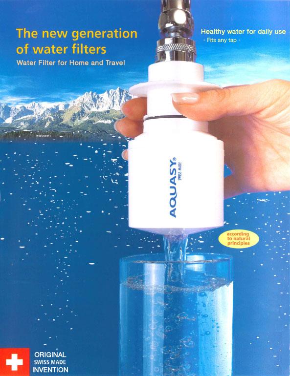 Conozca un nuevo filtro de viaje procedente de Suiza